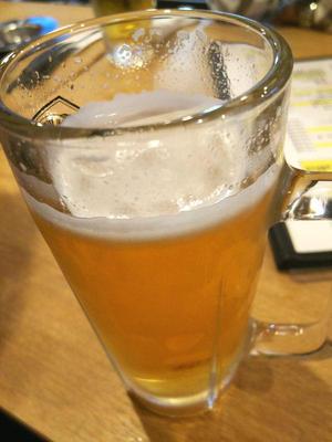 最初の一杯