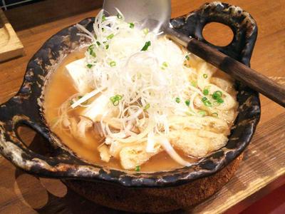 蕎麦屋の肉豆腐