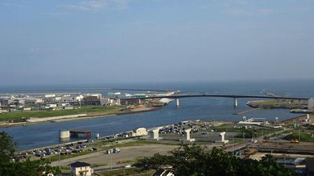 日和山からの全景