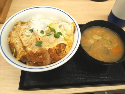 カツ丼(竹)と豚汁小