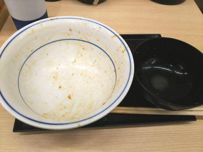 カツ丼(竹) 完食