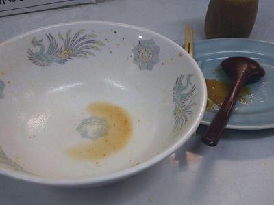 気仙沼ネギ味噌ラーメン 完食