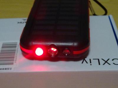 モバイルソーラーバッテリー SOSライト