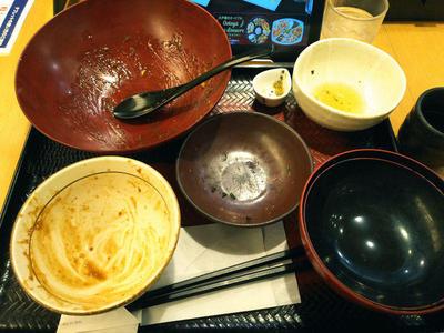 コクうま麻婆豆腐定食 完食