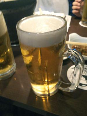 ビール 大ジョッキ