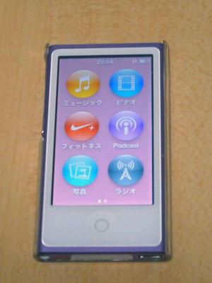 ipod nano 7G 点灯