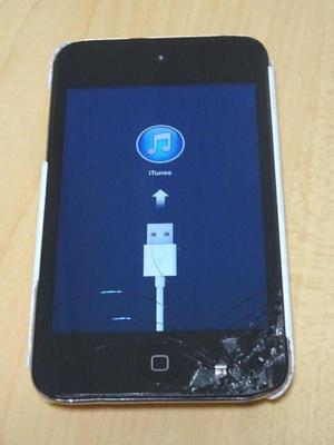 壊れた ipod touch