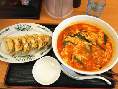 大宮担々麺と餃子