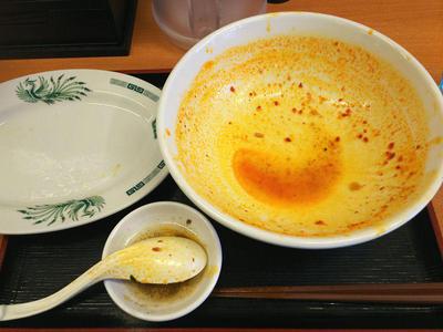 大宮担々麺 完食