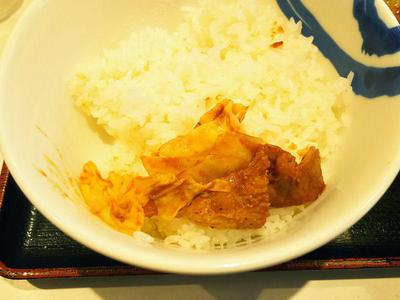 回鍋肉 オンザライス
