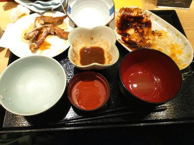 名古屋定食 完食