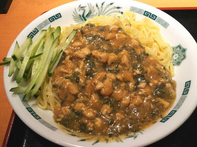 ガパオ汁なし麺