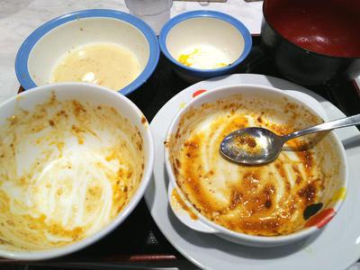 玉子で食べる四川風麻婆豆腐定食 完食