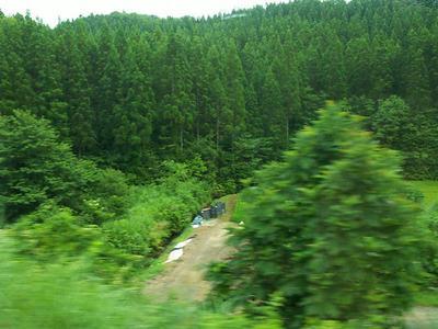 秋田新幹線からの景色