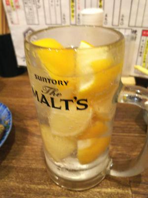 かち割りレモンサワー