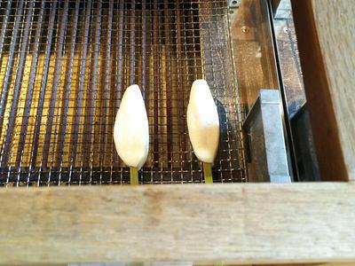 笹かまぼこ焼き体験