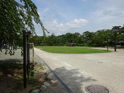 久保田城 二の丸広場