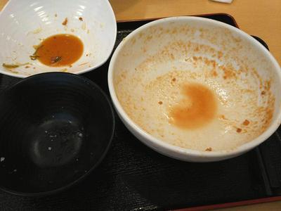 担々麺セット完食
