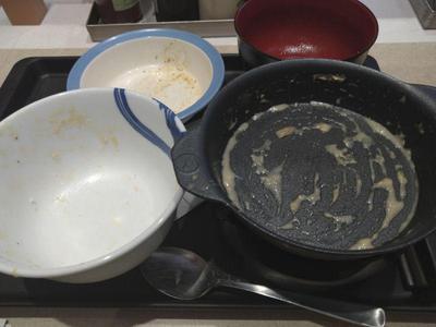 シュクメルリ鍋定食 完食