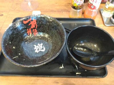 パワフルバーグ合盛りすた丼 完食