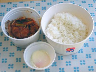 豚キムチ丼 セパレート