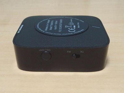 Bluetoothトランスミッター 切り替えスイッチ
