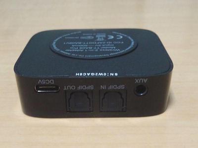 Bluetoothトランスミッター 接続