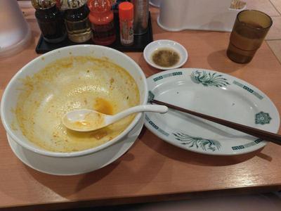 チゲ味噌ラーメン 完食