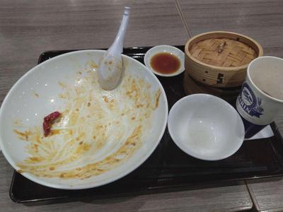 麻婆天津飯セット 完食