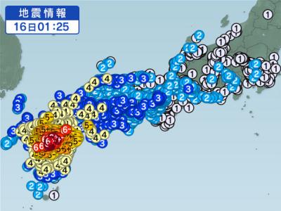 熊本地震 2016.04.16