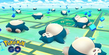 Pokémon GO 寝ているカビゴン