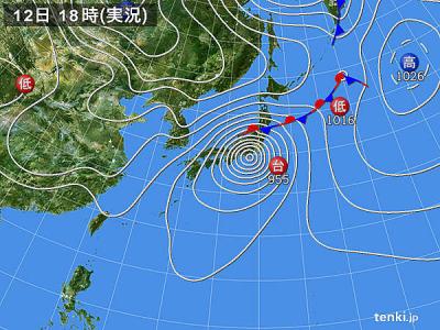 2019.10.12天気図