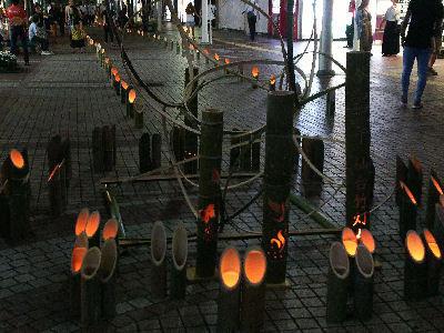 仙台竹灯篭