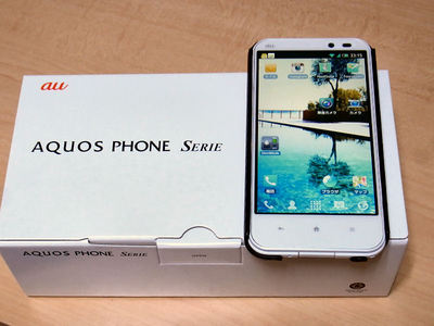 AQUOS PHONE Serie SHL22 購入