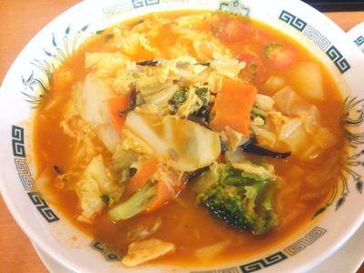 トマト酸辣湯麺
