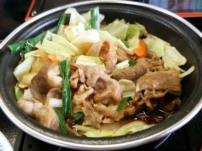 牛バラ野菜焼き