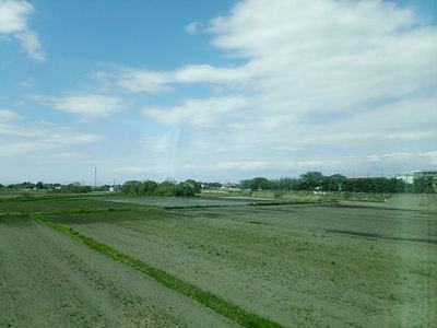 常磐線からの景色