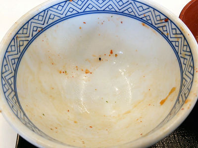 キムチ豚丼完食