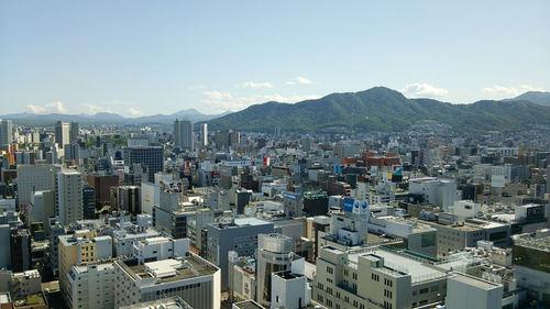 札幌テレビ塔展望台より 大倉山