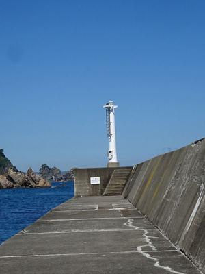 小袖港 灯台