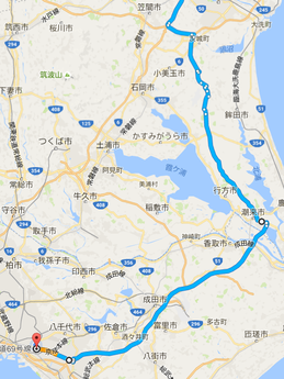 仙台-千葉ルート