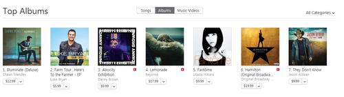 iTunes USチャート