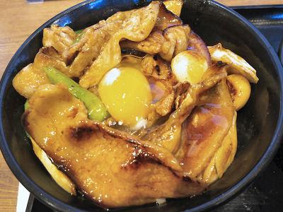 デカ豚バラ焼肉丼