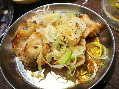 焼き鶏皮ポン酢