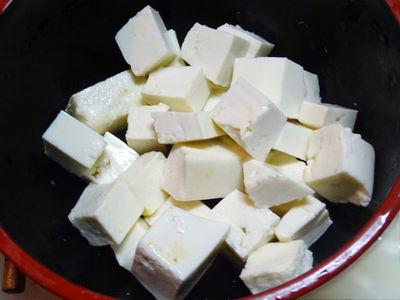 切った豆腐