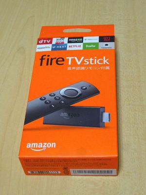 fire TV stick 外箱
