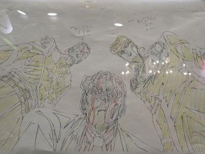 ジョジョアニメ原画 吉良吉影