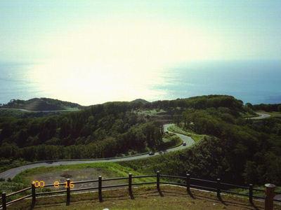 竜飛岬 2000-08-16