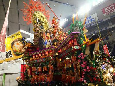 三社大祭の山車