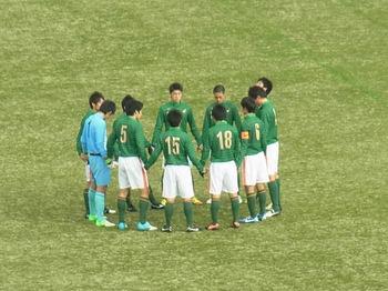青森山田の円陣